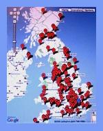 UK Universities Interactive Map British Graduates Society - Uk universities map